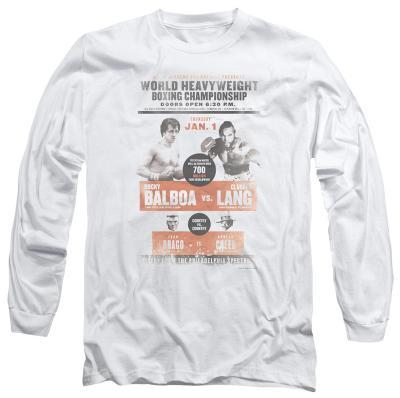 Long Sleeve: Rocky - Vs Clubber Poster