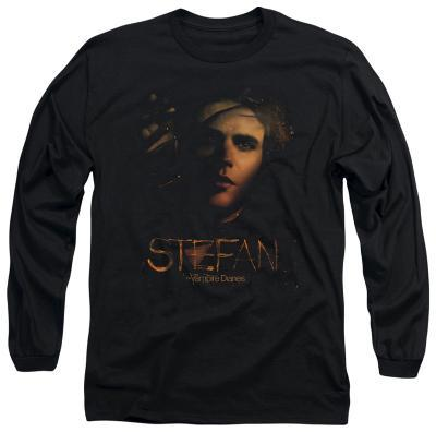 Long Sleeve: The Vampire Diaries - Stefan Smokey Veil