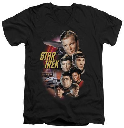 Star Trek - The Classic Crew V-Neck