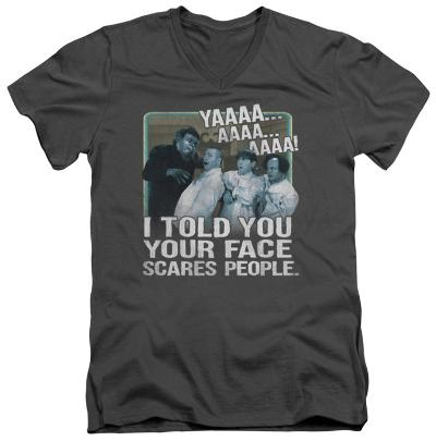 The Three Stooges - Scares People V-Neck