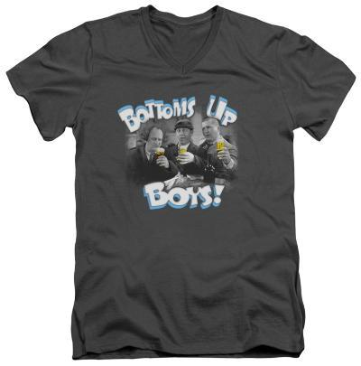 The Three Stooges - Bottoms Us V-Neck