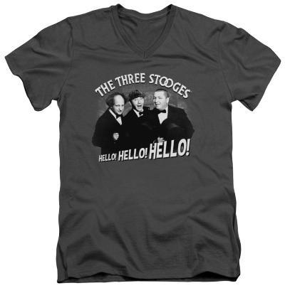 The Three Stooges - Hello Again V-Neck