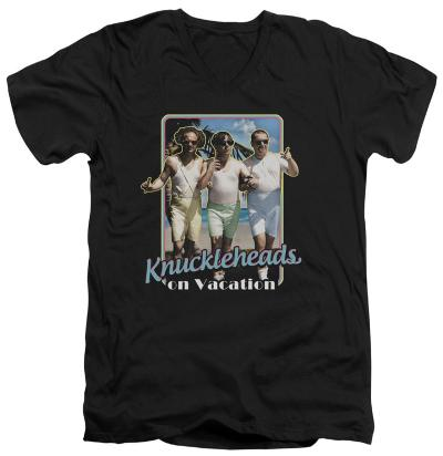 The Three Stooges - Knucklesheads On Vacation V-Neck
