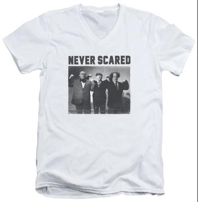 The Three Stooges - Never Scared V-Neck