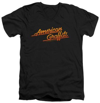 American Grafitti - Neon Logo V-Neck