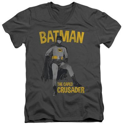 Batman Classic TV - Caped Crusader V-Neck