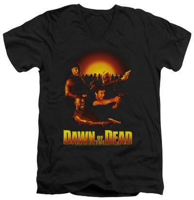 Dawn Of The Dead - Dawn Collage V-Neck