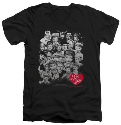 I Love Lucy - 60 Years Of Fun V-Neck
