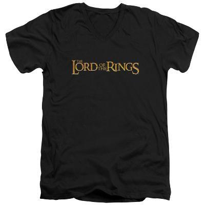 Lord Of The Rings - LOTR Logo V-Neck