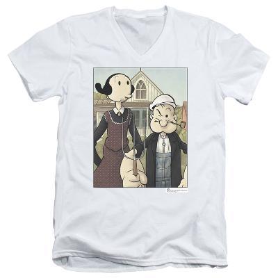 Popeye - Popeye Gothic V-Neck