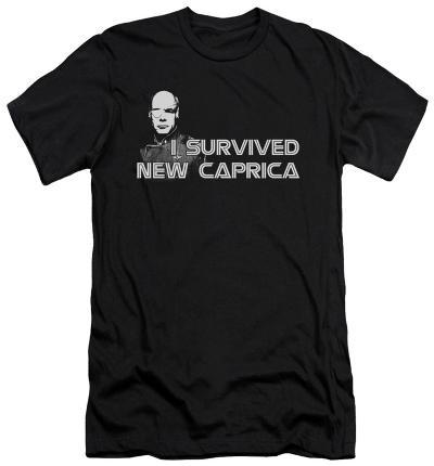 Battlestar Galactica - I Survived New Caprica (slim fit)