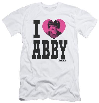 NCIS - I Heart Abby (slim fit)