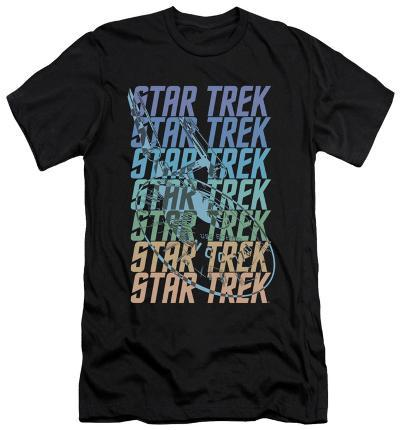 Star Trek - Multi Logo Enterprise (slim fit)
