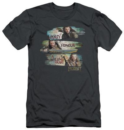 The Hobbit: An Unexpected Journey - Loyalty And Honour (slim fit)