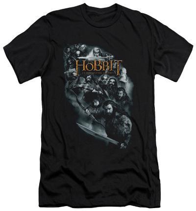 The Hobbit: An Unexpected Journey - Cast Of Characters (slim fit)