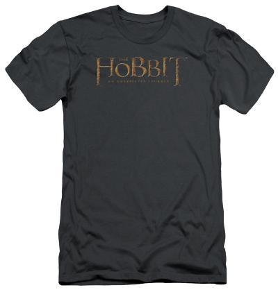 The Hobbit: An Unexpected Journey - Distressed Logo (slim fit)