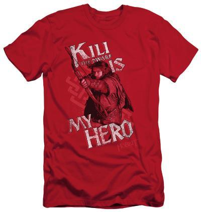 The Hobbit - Kili Is My Hero (slim fit)