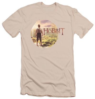 The Hobbit: An Unexpected Journey - Hobbit In Circle (slim fit)