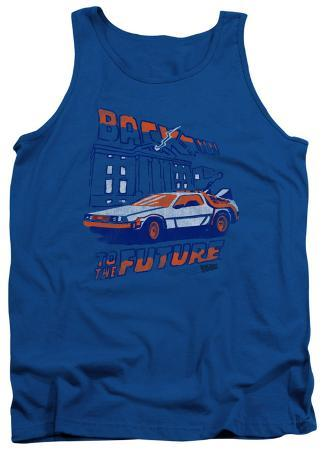 Tank Top: Back To The Future - Lightning Strikes