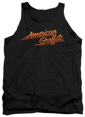 Tank Top: American Grafitti - Neon Logo