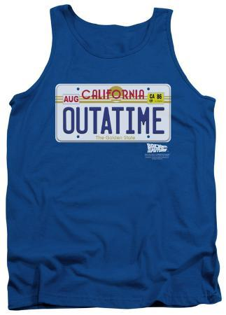 Tank Top: Back To The Future - Outatime Plate