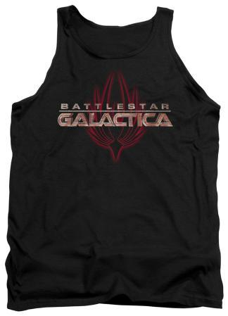 Tank Top: Battlestar Galactica - Logo With Phoenix