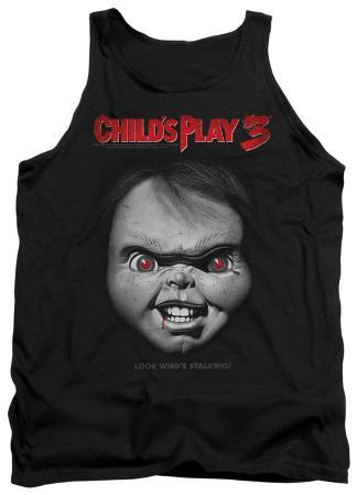 Tank Top: Child's Play 3 - Face Poster