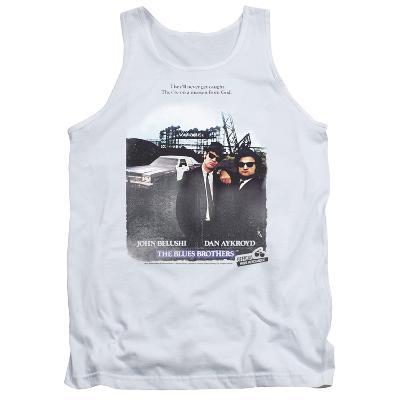 Tank Top: Blues Brothers - Distressed Poster