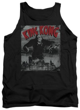 Tank Top: King Kong - City Poster