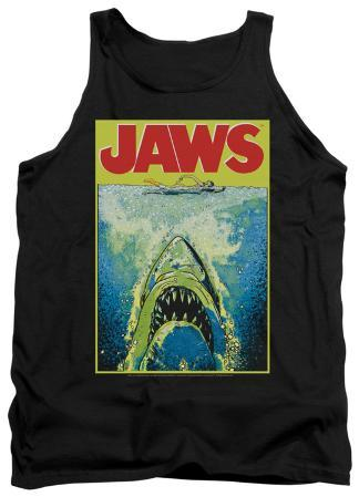 Tank Top: Jaws - Bright Jaws
