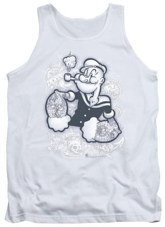 Tank Top: Popeye - Tattooed