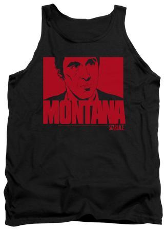 Tank Top: Scarface - Montana Face