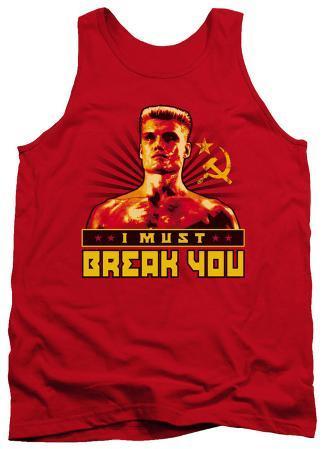 Tank Top: Rocky - I Must Break You