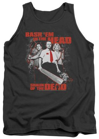 Tank Top: Shaun Of The Dead - Bash Em