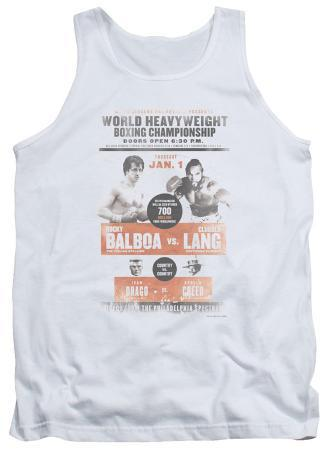 Tank Top: Rocky - Vs Clubber Poster
