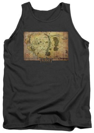 Tank Top: The Hobbit: An Unexpected Journey - Middle Earth Map