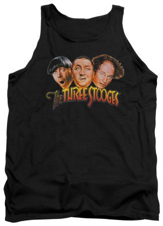 Tank Top: The Three Stooges - Three Head Logo