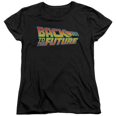 Womens: Back To The Future - Logo