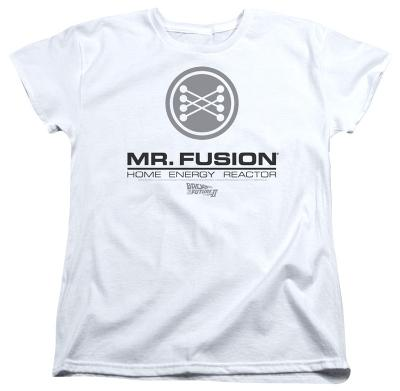Womens: Back To The Future II - Mr. Fusion Logo