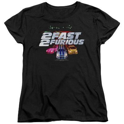 Womens: 2 Fast 2 Furious - Logo