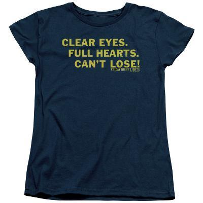 Womens: Friday Night Lights - Clear Eyes