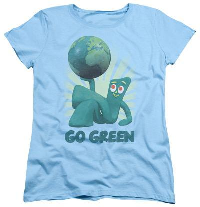 Womens: Gumby - Go Green