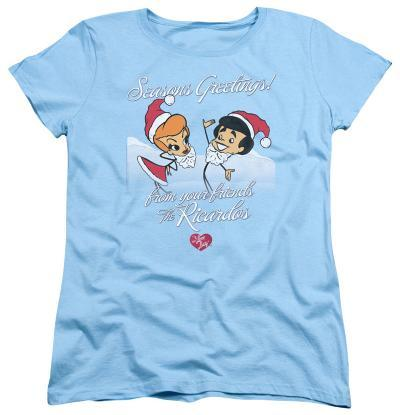 Womens: I Love Lucy - Animated Christmas
