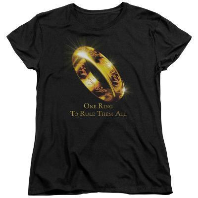 Womens: Lord Of The Rings - One Ring