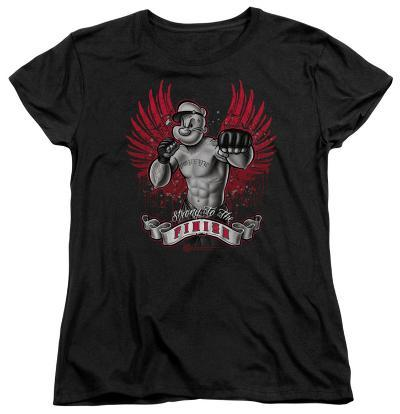 Womens: Popeye - Undefeated
