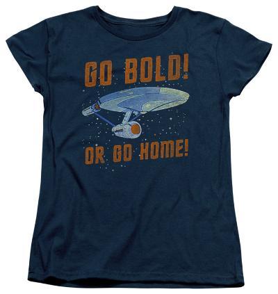 Womens: Star Trek - Go Bold