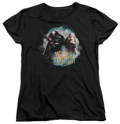 Womens: The Hobbit - We're Fighers