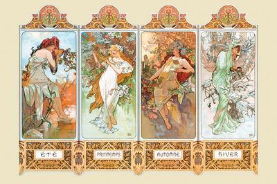 Mucha The Four Season
