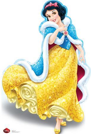 Snow White Holiday - Disney Lifesize Standup