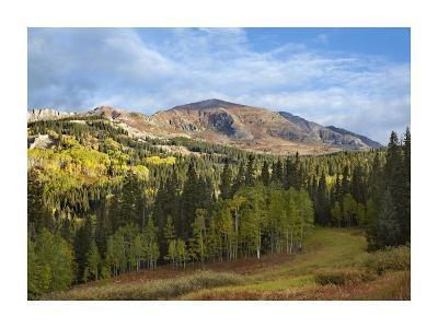 Ruby Peak near Crested Butte, Colorado